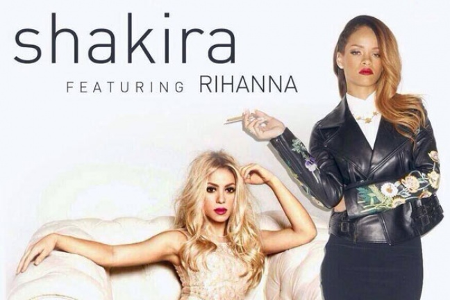 Shakira and Rihanna in bed together for provocative new music video